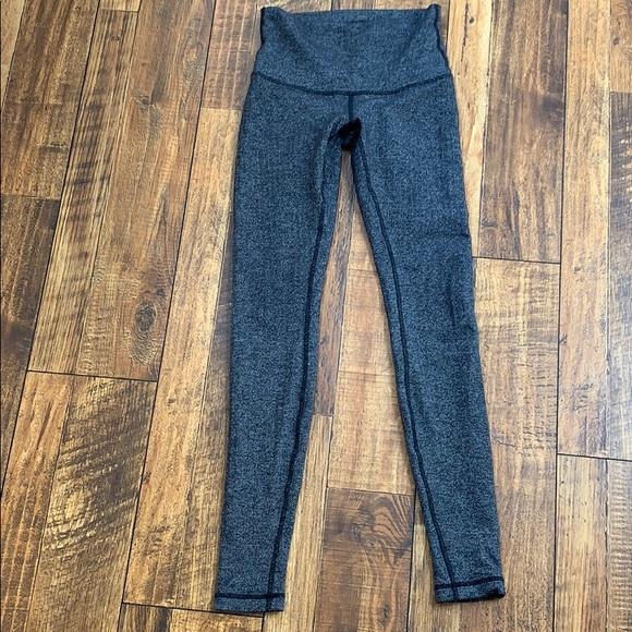 c62752f642 lululemon athletica Pants | High Waist Herringbone Design Long ...